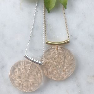 Rice Necklace - Gold